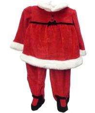 Layette Santa Suite Baby Girls [Red]