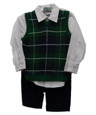 Cherokee Baby Boy 3 Piece Set [Green]